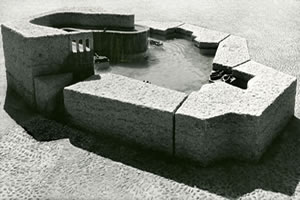 'A Village Fountain', Vernier (CH), 1984
