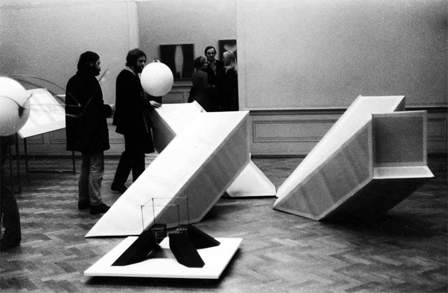 LAUSANNE (CH), MUSEE DES BEAUX ARTS,'RECHERCHES & EXPERIMENTATION', 1970