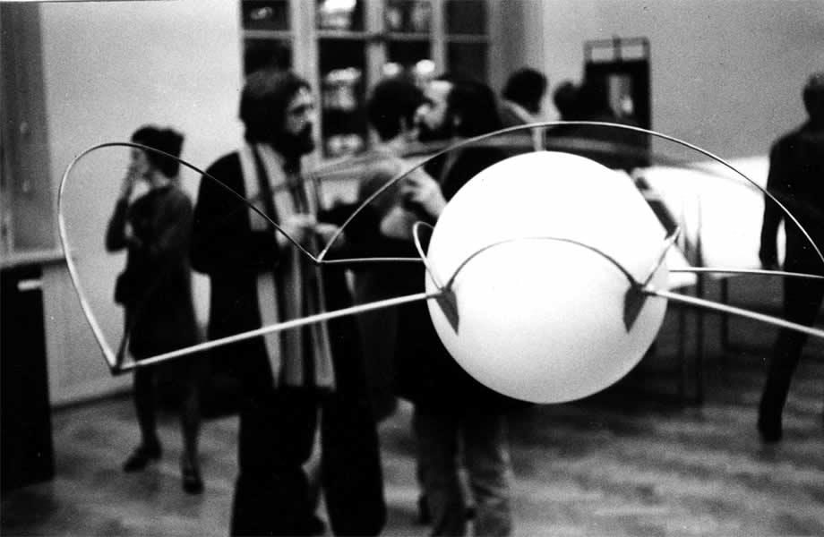 LAUSANNE (CH), 1970 MUSEE DES BEAUX ARTS, 'RECHERCHES & EXPERIMENTATION',