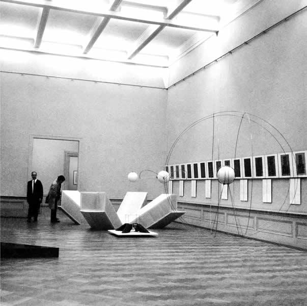 GENEVE (CH), MUSEE RATH, 'RECHERCHE & EXPERIMENTATION' 1969