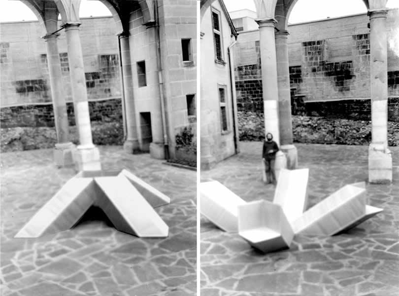 FRIBOURG (CH), MUSEE DES BEAUX ARTS, 'RECHERCHE & EXPERIMENTATION', 1970