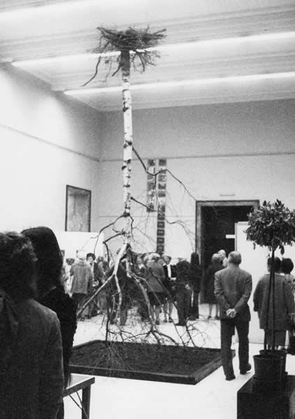 LAUSANNE (CH),  MUSEE DES BEAUX ARTS, 'IMPLOSION', 1973
