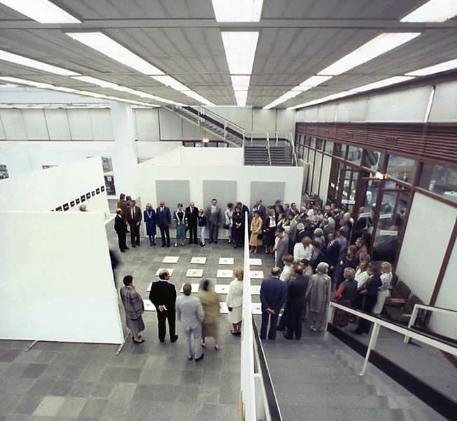VIENNA (A), XXth CENTURY MUSEUM, 'ART & TIME' 1985