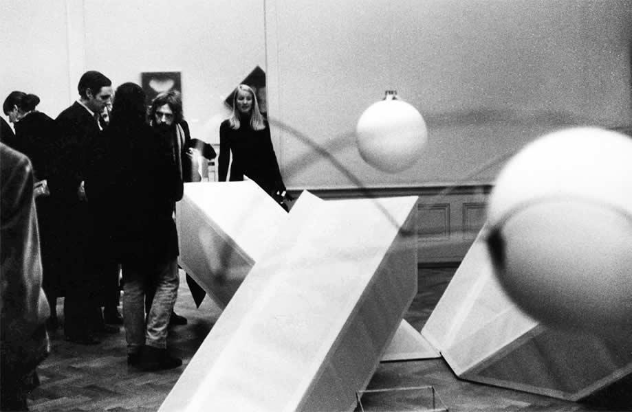 LAUSANNE (CH), MUSEE DES BEAUX ARTS', RECHERCHE + EXPERIMENTATION'  1970